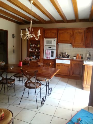 Beautiful, quiet country house - Genouilly - House