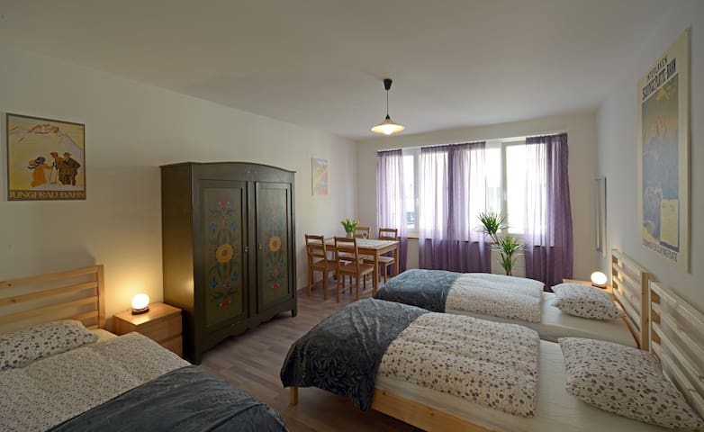 Three-bed room in Interlaken - Interlaken - Apartemen