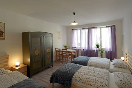 Three-bed room in Interlaken