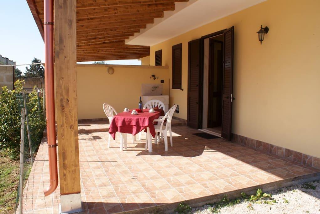 veranda di pertinenza