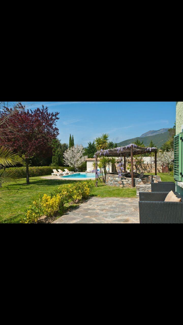 Villa paisible au pays du vin