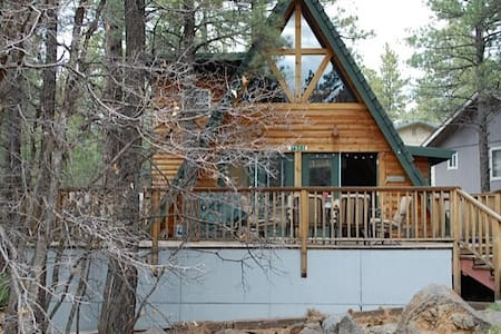 Family Cabin in the Pines - Munds Park - Cabana