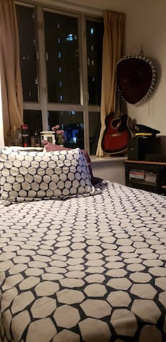 Close up of sofa bed