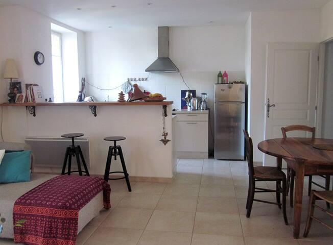 Bel appartement proche Avignon/St-Rémy de Provence