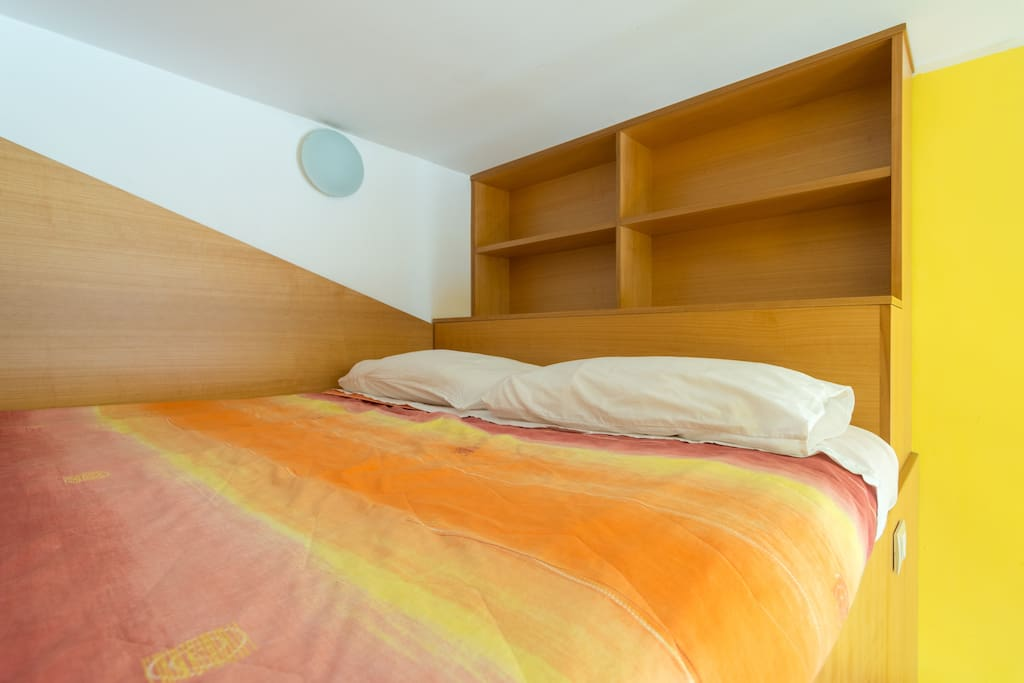 Camera da letto 2: letto su soppalco
