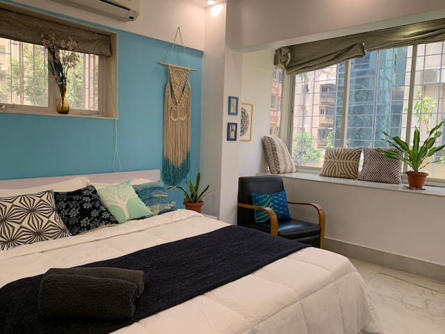 ✪ Holiday Home in Bandra ✪Nr Ocean & Park✪ Room 2