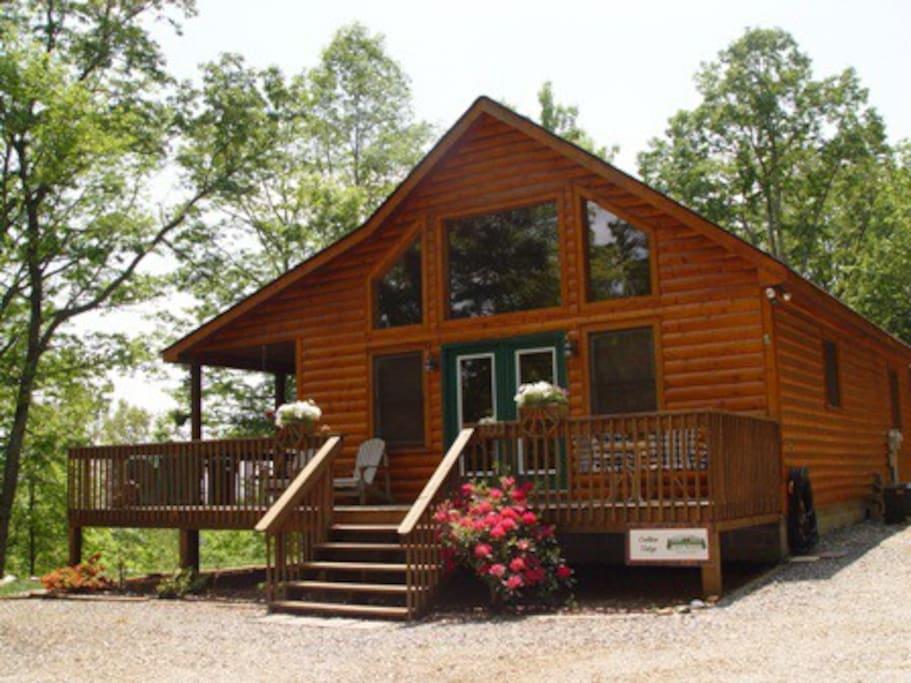 Golden Ridge Cabins For Rent In Murphy North Carolina