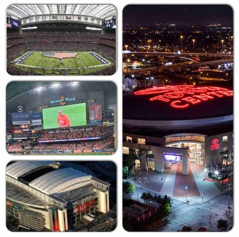 Minutes from all major sports & concert venues!