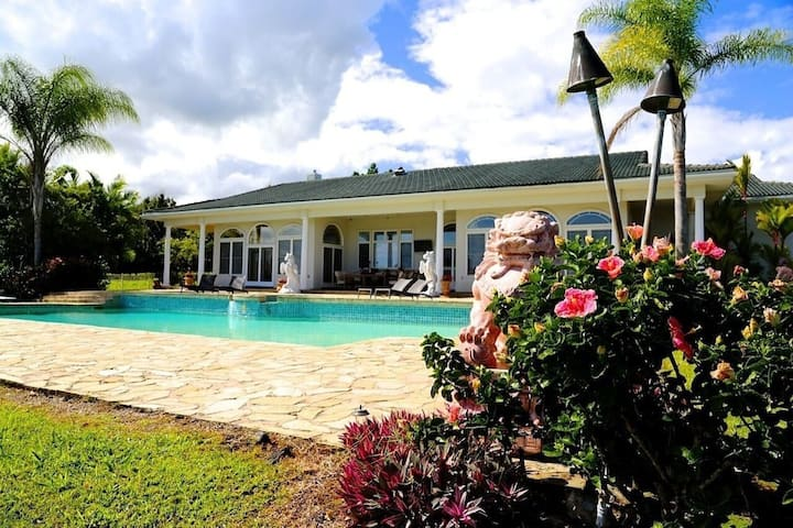 Spectacular Views! Gorgeous Home In Hilo With Pool