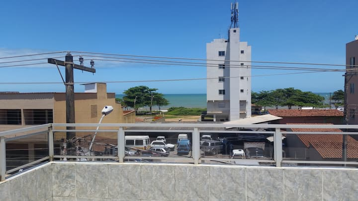 Quarto Cobertura Vista Mar de Jacaraípe!