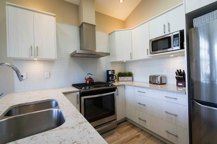 Modern, self-contained kitchen