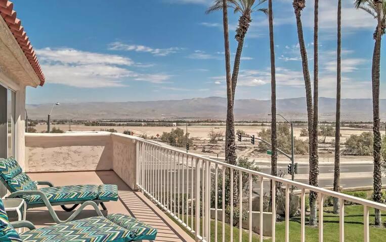 Lovely 3BR Palm Desert Condo w/Community Pool - Palm Desert - Condominium