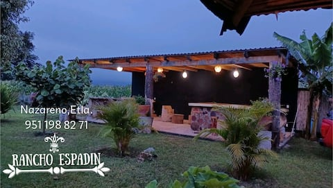Cabaña con jardín (Rancho ESPADIN)