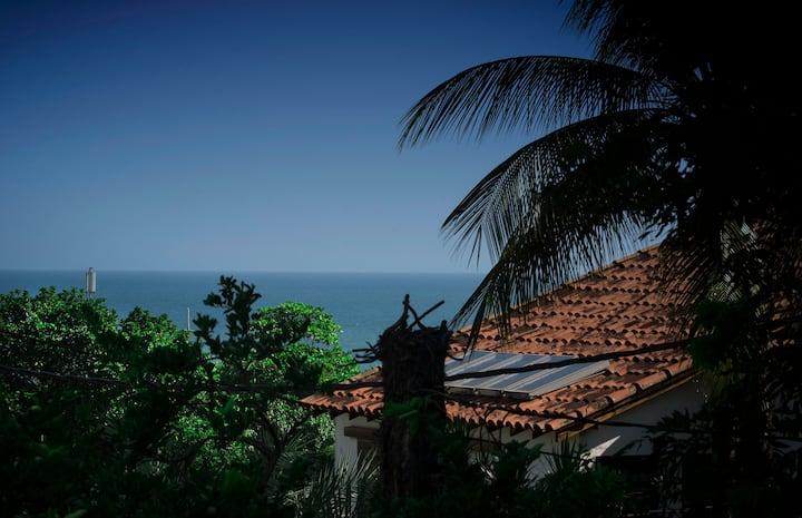 Monte & Mar São Conrado qto privativo 3 hóspedes.
