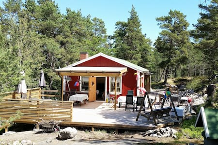 Private cabin in the archipelago of Stockholm - Dalarö  - Blockhütte