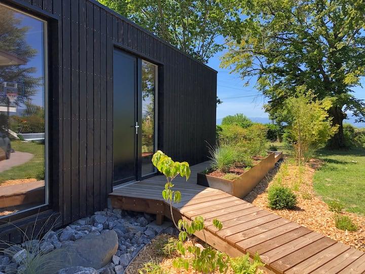 Thonon-les-bains : Studio design avec vue