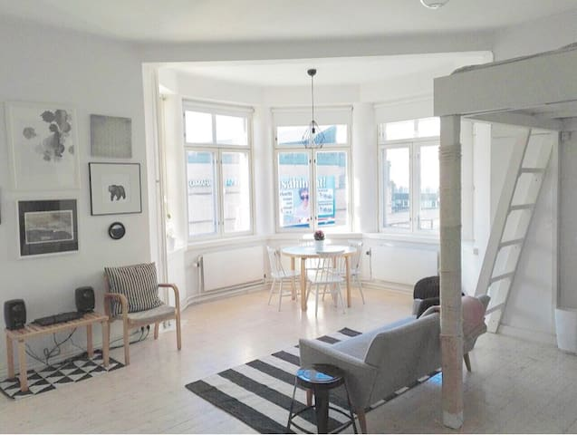Unique studio apartment in Kallio district