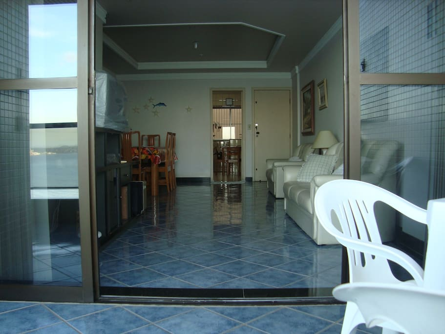 Vista da sala (pela varanda)