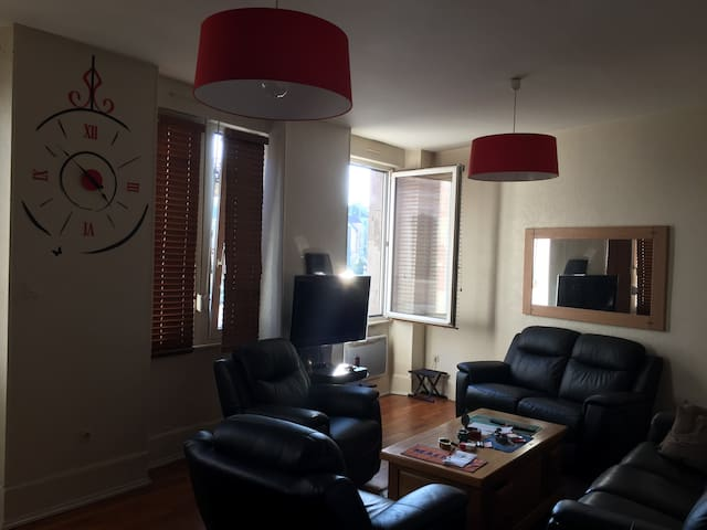 Appart duplex 80 m² centre ville - Belfort - Apartment