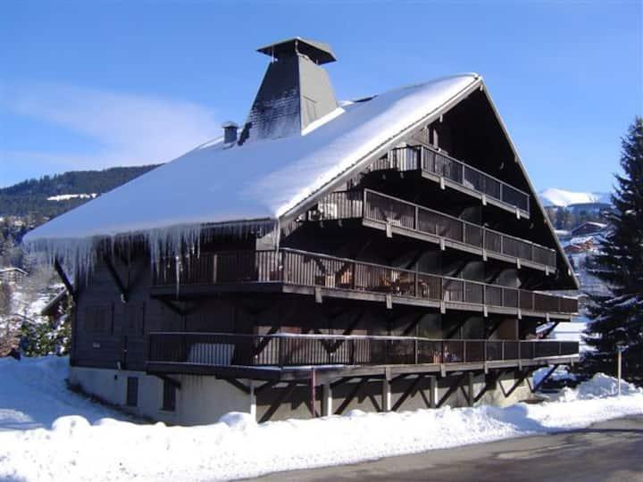 Large apartment Megève Mt-Blanc
