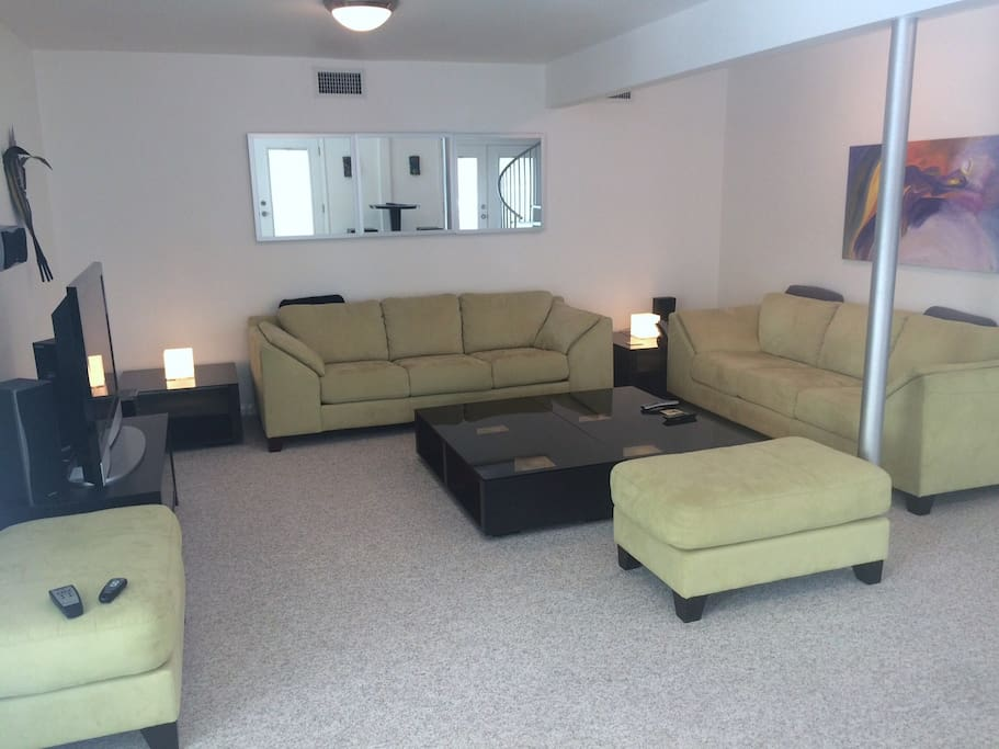 Living Area - Downstairs