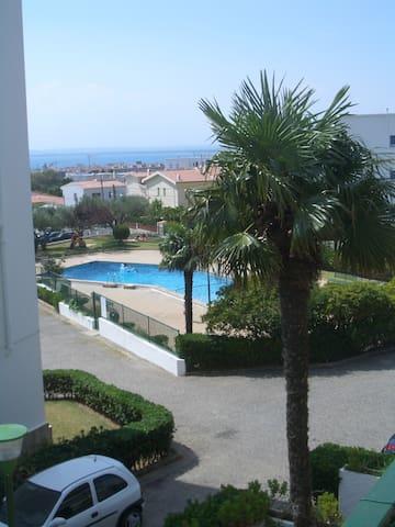 Apt 2 chambres Mas Oliva Espagne avec piscine - Roses - Lejlighed