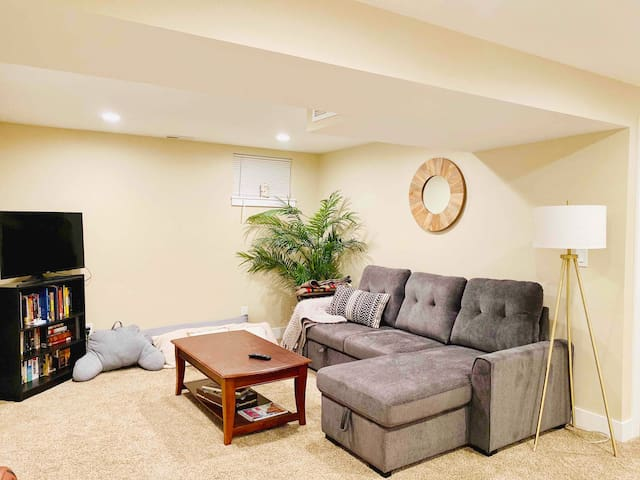 Beautifully Remodeled Basement Suite