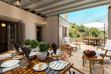 Stunning Eco stay Villa in Epidavros - Nea Epidavros - Casa de campo