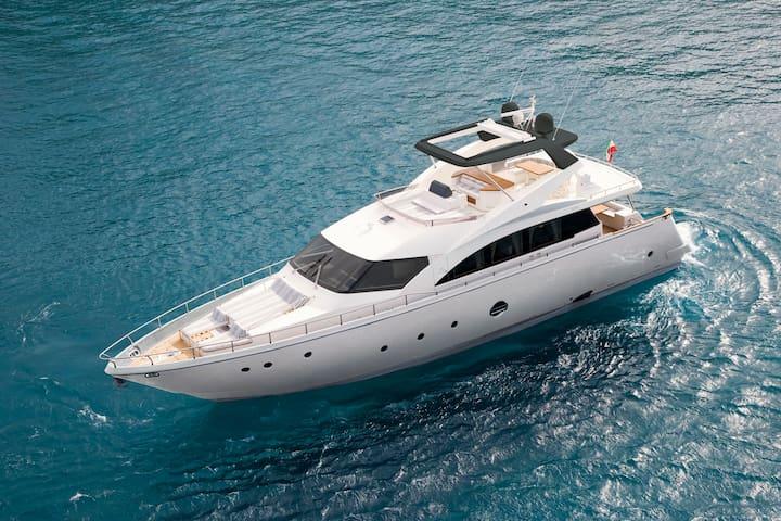 Luxury Yacht 78' Milazzo - Milazzo - Boot