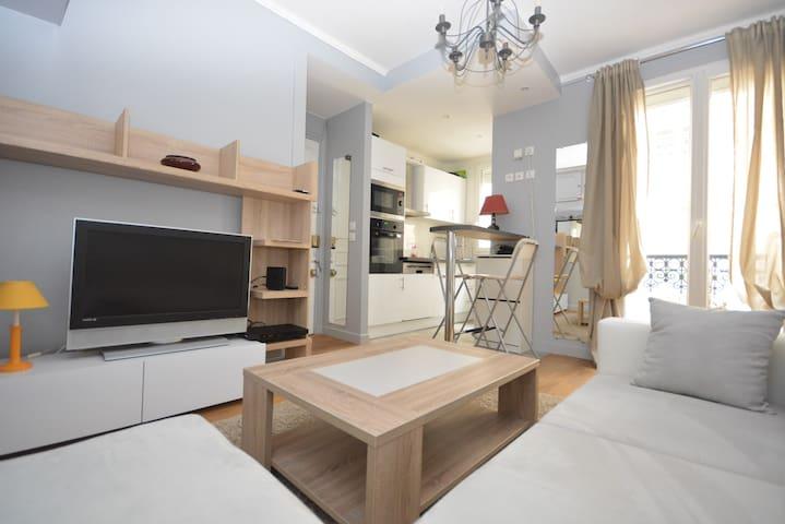 Marais Vosges 1BDR - Paris - Apartmen