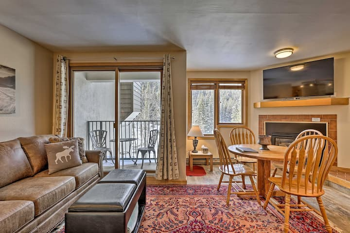 Ski-In/Ski-Out Retreat w/ Iron Horse Pool Access!