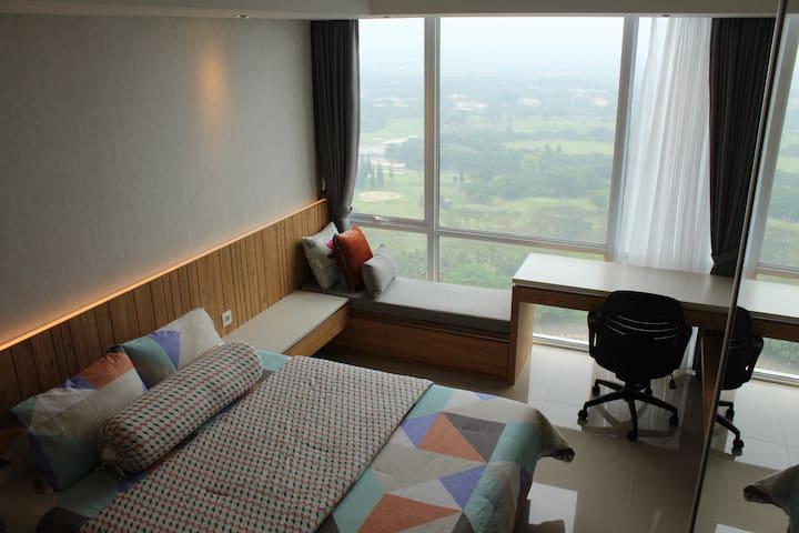 U-Residence Studio Tower2 Golf View - Kelapa Dua - Wohnung