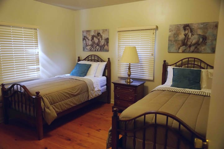 Peaceful Hills Cottage is a clean place for you to rest.