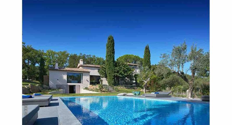 Renovated Villa 10 mins from Saint-Tropez