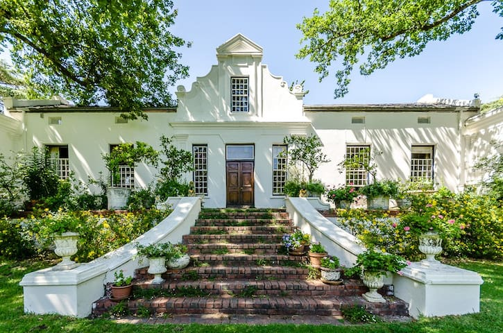Natte Valleij Estate (Vineyard Cottage) - Stellenbosch - Huis
