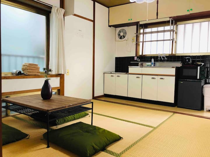5 mins from Kagoshima Chu-ou Station 202+Parking