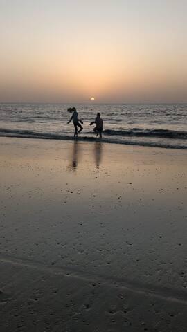 Sunset in Dahanu