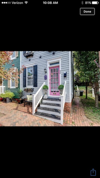 "Recognized by the Historical Annapolis Foundation our home is from 1842 and has also been one of the Capital Gazettes exclusive "" Home of the week """