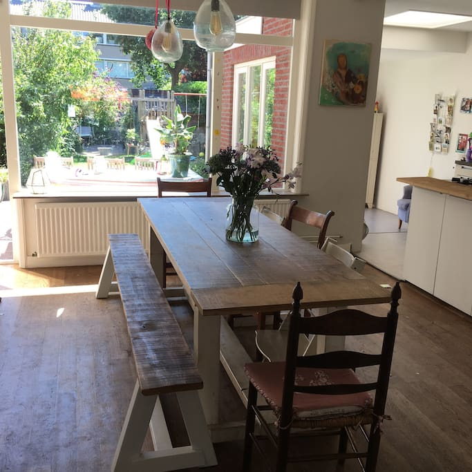 Dining Room- open kitchen