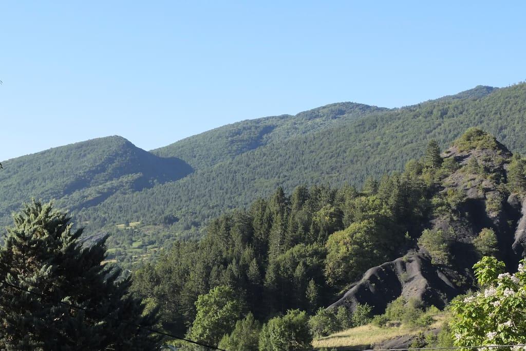 Le paysage et les Robines