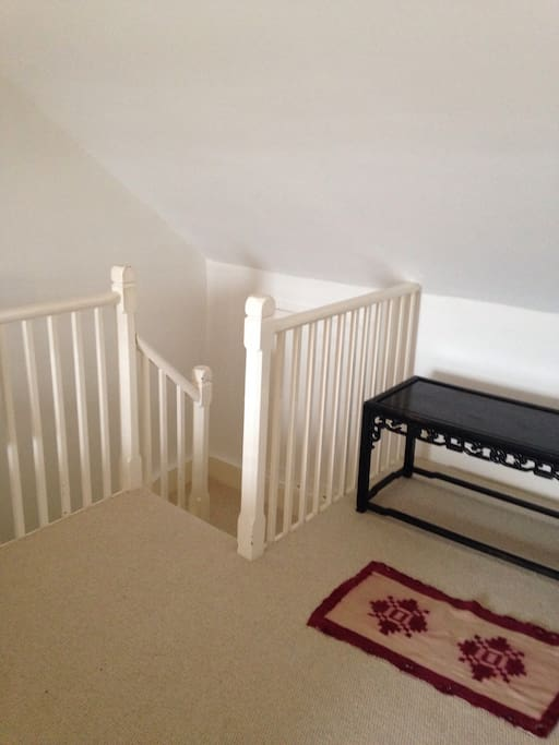 Private stairs to your bedroom