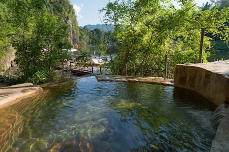 Safari Tented on the River Kwai