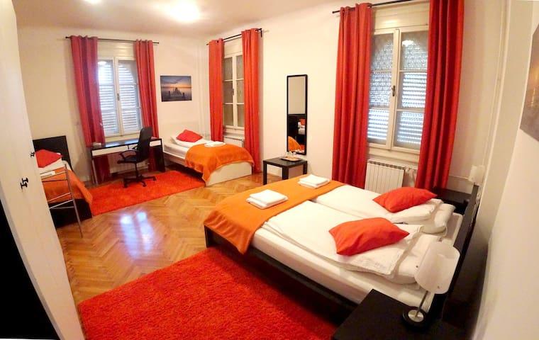 Big Quadruple room, Guesthouse Soul Ljubljana