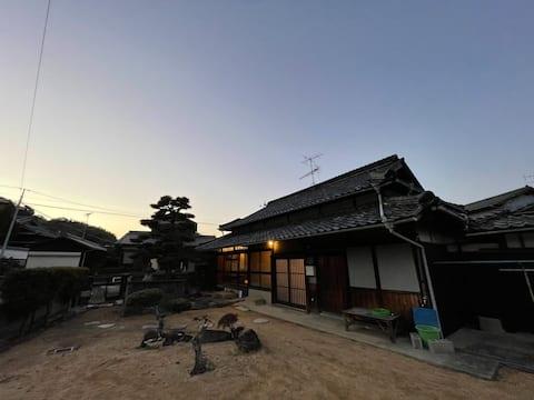 【NewOpen】小豆島の古民家 一棟貸し宿 しょうずの宿濱風(はまかぜ) 露天風呂付