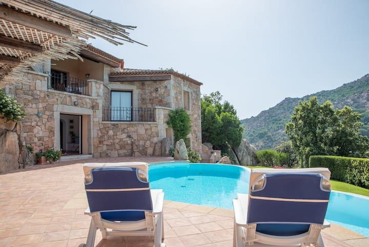 Gorgeous Villa Asia with pool and stunning view