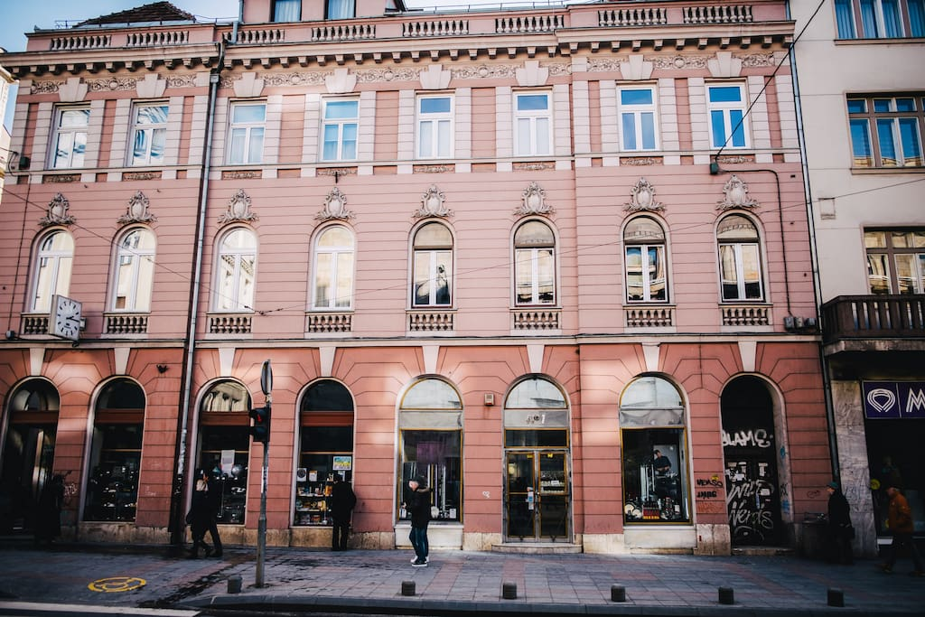 Historical building in the heart of the city center