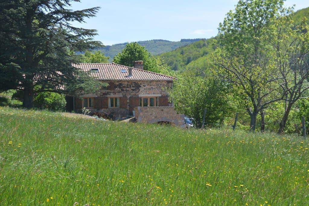 La gabbro grande maison en pleine nature maisons for Maison en pleine nature