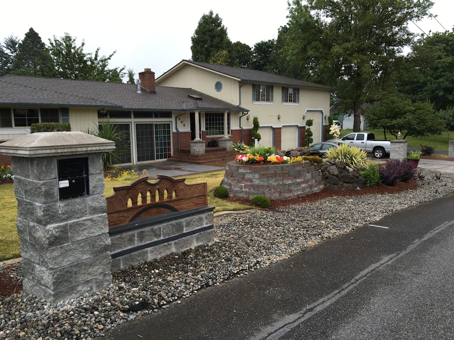 Scenic Hill Peaceful Getaway Houses For Rent In Kent Washington United States
