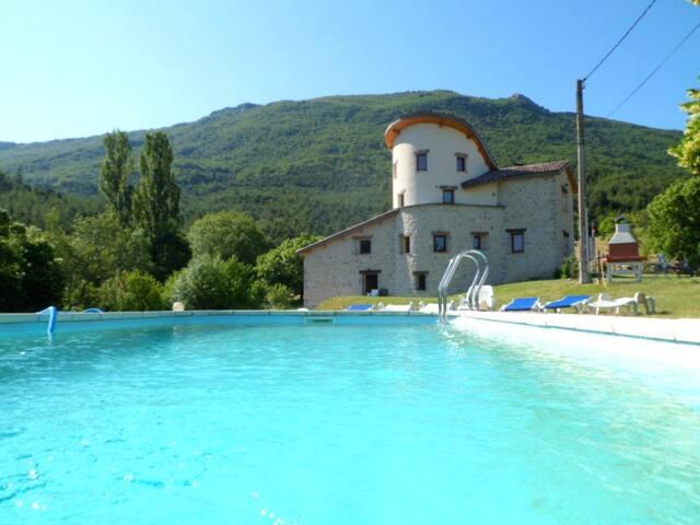 Chabrel: Gites calmes en Drôme provençale - gîte 2