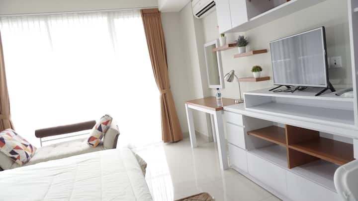 Bright Cozy Studio Apt Dago Premium Location